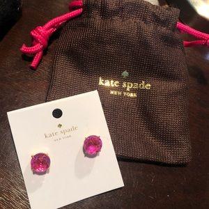 Kate Spade Pink Stud Earrings